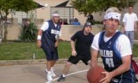 CEO CFO 2 on 2 basketball challenge